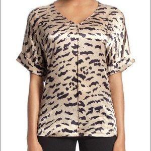 Cabi EUC- silk blouse
